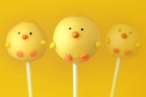 cake pops pollos