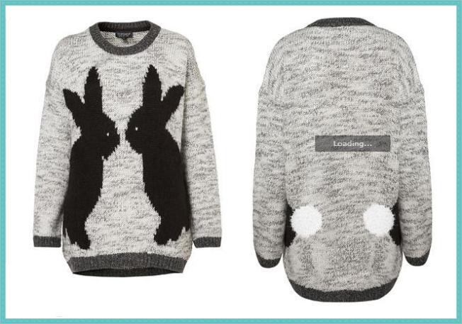 jersey conejos topshop