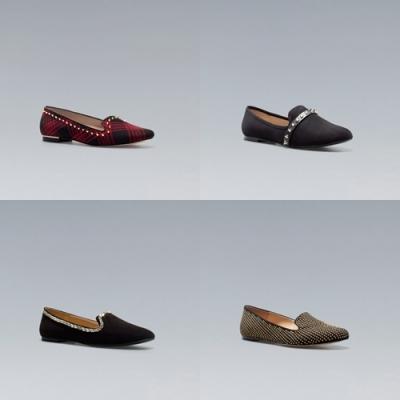 slippers rock style zara