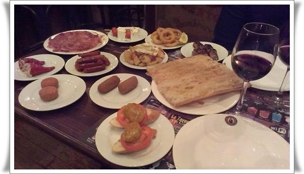 tapas barcelona taverna de barcelona