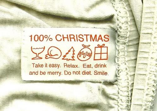 etiqueta navidad